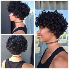 Gorgeous curly #DevaCut by Rachel at Strut Salon in Portland.