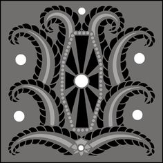 Art Deco stencils from The Stencil Library. Buy from our range of Art Deco stencils online. Page 1 of our Art Deco tile stencil catalogue. Stencil Decor, Stencil Art, Stencil Designs, Art Nouveau, Art Deco Tiles, Stencils Online, Art Therapy Projects, Healthy Cat Treats, Print Fonts