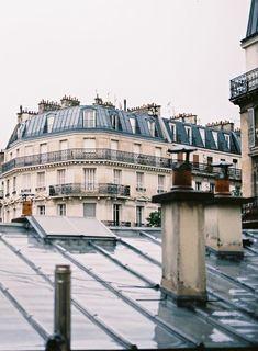 Toits de Paris. Paris rooftops by Fat Tire Tours Paris.