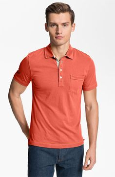 Billy Reid 'Pensacola' Trim Fit Polo available at Nordstrom