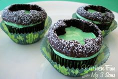 Brandi!!! Here you go, make these for me!!! St Patty's cupcakes