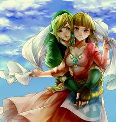 Link & Zelda | Skyward Sword