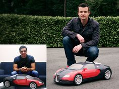 PaperCraft......This guy creates models out of paper. You can print them and make the cars yourself!!