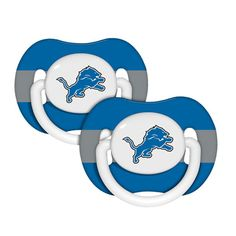 Detroit Lions Pacifier 2-Pack  Because Joseph should be able to show his team spirit too :)