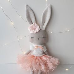 One more picture of this sweetie! She is available in my Etsy shop. Link in bio. #fabricdoll #handmadedolls #giftforgirls #handmade #textiledoll #heirloomdoll #bunnydoll #softtoy #babygifts #bunny #nursery #kids #dolls #clothdolls #giftsforkids #pink #instamum #etsyfinds #shopsmall #mum #kids #babygirl #animaldoll #roomdecor