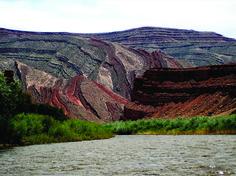 Utah Geological Survey » Blog Archive » POTD August 7, 2013: San Juan River near Mexican Hat, San Juan County, Utah