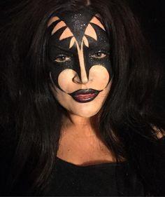 #kiss #kissmakeup #music #rockband #rock #bodypaint #bodyart #art #paint #makeup #mua #irish #genesimmons