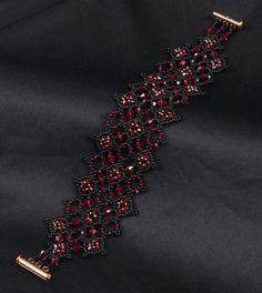 Bracelet Tutorial Diamonds Are Forever by NEDbeads on Etsy