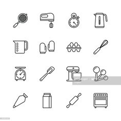 Bakery Branding, Bakery Logo, Baking Tattoo, Bakery Icon, Culinary Tattoos, Icon Tattoo, Cooking Icon, Cake Logo Design, Food Icons