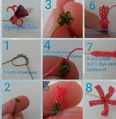 This Pin was discovered by Naz Fabric Earrings, Crochet Earrings, Tatting, Diy And Crafts, Paper Crafts, Needle Lace, Lace Making, Baby Knitting, Elsa