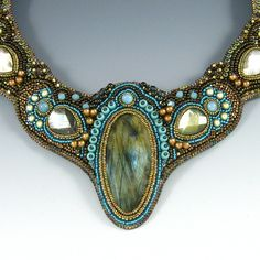 labradorite collar detail | Flickr - Photo Sharing!