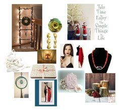 """Take Time To Enjoy the Simple Things"" by msbsdesigns ❤ liked on Polyvore featuring vintage, etsy, jewelry and handmade"