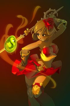 Alma and the Spanish Dofus by xa-xa-xa.deviantart.com on @deviantART