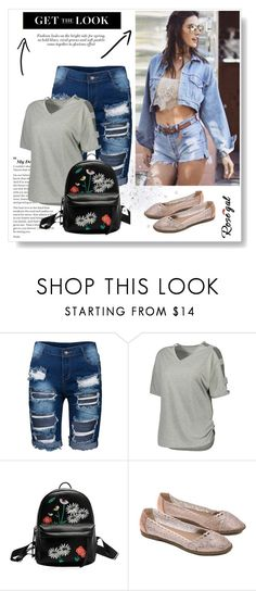 """Rosegal date outfit"" by fashion-all-around ❤ liked on Polyvore"