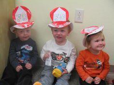 Preschool crafts. Paper plate crafts. Community helpers. Fireman ...