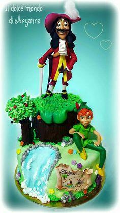 Peter Pan e Capitano Uncino