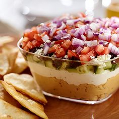 Win big on Game Day this year with this 7 layer dip from David Venable!