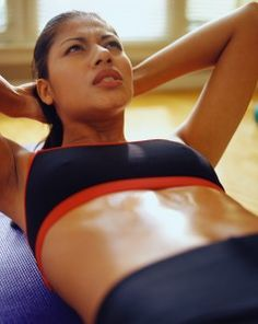 ab workouts to keep a flat stomach from Busy Mommy media