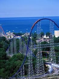 Image result for breathtaking views of cedar point