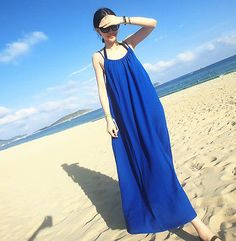 Sexy Women Summer Boho Long Maxi Evening Cocktail Party Beach Chiffon Dress - EXCLUSIVE DEAL! BUY NOW ONLY $7.86