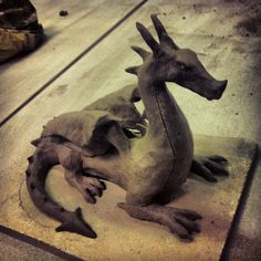 Clay Dragon #2 by TheSEB93 on DeviantArt