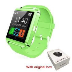 TUFEN Bluetooth Smart Watch U8 New Fashion Women Kids Smartwatch Waterproof Sport Wrist Watch For IOS iPhone Android Phone watch