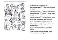 Egeres néma, értő olvasás gyakorló, figyelem fejlesztésére