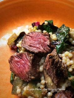 Moroccan Grilled Steak ⋆ Our Growing Paynes ⋆ Dinner