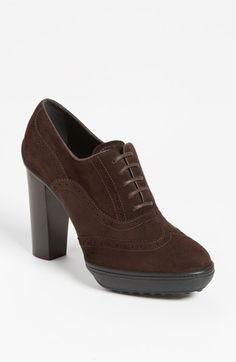 Tod's Bootie available at #Nordstrom ~  had a similar pair by YSL once. Handsome.