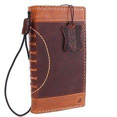 Iphone-6s-Book-4-7-Vintage-Leather-Hard-Case-Wallet-Handmade-Luxury-Football