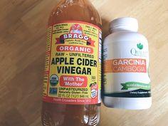 Apple Cider Vinegar, garcinia cambogia, weight loss