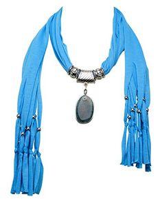 Jemis Female's Fashion Oval Necklace Scarf Azure Jemis http://www.amazon.com/dp/B00T45CXGG/ref=cm_sw_r_pi_dp_RxdWvb0YS26H9