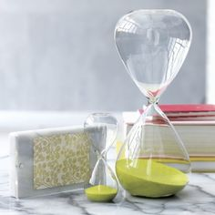 Loving these decorative and functional hourglasses
