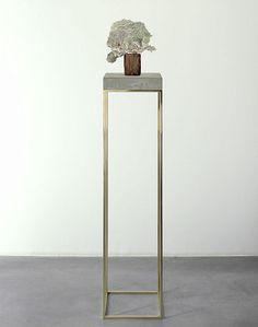 Bronze display stands for Carol Bove Studios. Fabricated by Milgo/Bufkin. Jewelry Store Design, Sculpture Stand, 3d Studio, Banquette, Cabinet Decor, Furniture Design, Art Pieces, Contemporary, Interior Design