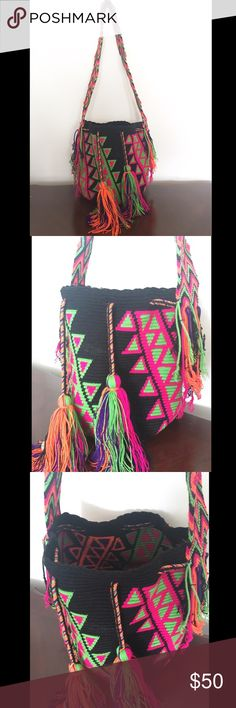 Handmade purse 👛 Beautiful handmade purse 👛 from Colombia 🇨🇴 COLOMBIA Bags Totes