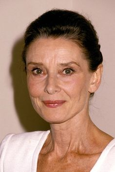 Audrey Hepburn. Graceful aging at its finest.