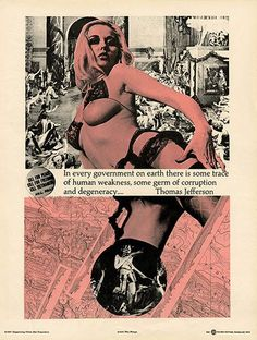 Berkeley Situationist poster by WM Weege, circa 1967: