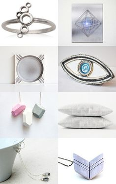 """paroliro on ETSY curated """"Put A Ring On It September"""" Treasury [*Click on image to see all 16 items I chose] featuring hand made minimalist dusky jewelry and home decor lovelies from my talented fellow Etsians --Pinned with TreasuryPin.com"""