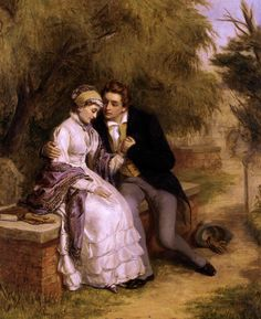 Английский художник William Powell Frith (1819-1909)