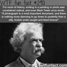Why people in old photographs don't smile -  WTF fun facts