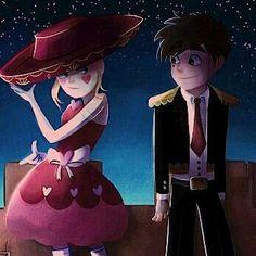 Starco my otp Disney Xd, Arte Disney, Disney And Dreamworks, Kevedd, Star Wars, Blood Moon, Fan Art, Star Butterfly, Cartoon Games