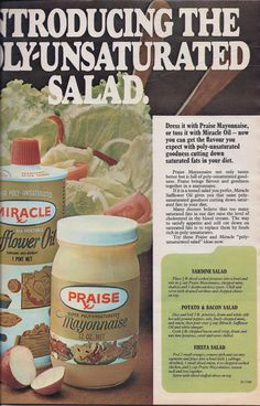 Praise Mayonnaise.  That Miracle  name looks like a rip off on Miracle Whip, which had been around decades earlier.