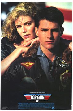 Top Gun - Starring Tom Cruise (Maverick), Anthony Edwards (Goose), Val Kilmer (Iceman) and Kelly McGillis (Charlie) Kelly Mcgillis, Val Kilmer, Top Gun Film, Top Gun Movie, Tom Cruise, Anthony Edwards, Film Gif, Film Serie, 80s Movies
