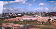 Veja passo-a-passo como foi as obras do estádio da Arena Corinthians    Vi aqui
