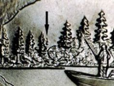"""How to Identify the Minnesota """"Extra Tree"""" State Quarter Error Rare Coins Worth Money, Valuable Coins, Gold Coins For Sale, Old Coins Value, Saving Coins, State Quarters, Error Coins, Coin Worth, Coin Values"""