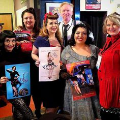 Some of pin ups (and director Kathleen Ryan and Producer David Staton) at the Albuquerque Film Festival Pin Up Girls, Film Festival, Documentaries, It Cast, David, Movies, Women, Comic Con, Women's
