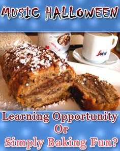 Music Halloween: Learning Opportinuty or Simply Baking Fun? | On Music Teaching and Parenting
