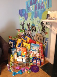 Animal shelter donation party. Donations instead of gifts. Dog theme birthday party. Cat party. Donate to shelter animals. Birthday party for kids. http://www.giftideascorner.com/birthday-gifts-ideas