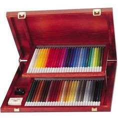 Stabilo CarbOthello Wooden Box Set - 60 Pastel Pencil Wooden Box Set #Stabilo (mama)