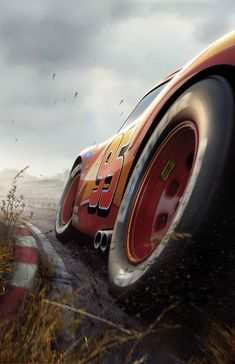 Disney Pixar CARS: Lightning Phone Wallpaper